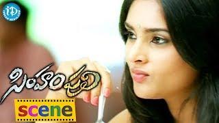 Simham Puli Movie - Jeeva, Ramya Funny Love Scene
