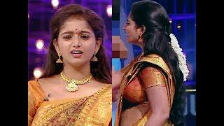 Tv anchor and actress Deepika rengaraju big navel and boob HD~RP