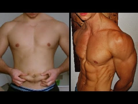 6 Month Body Transformation - Fat to Shredded