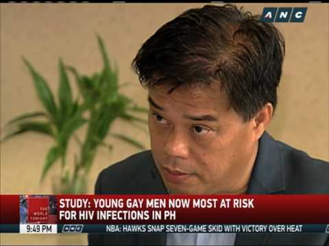 Study: Young gay men most at risk for HIV infections in PH