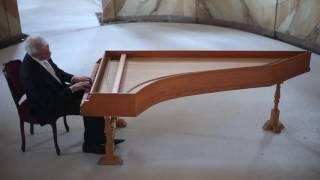 Claudio Merulo, Toccata prima del quinto tono. Marco Mencoboni harpsichord