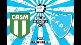 San Miguel vs CADU - Reducido, Final IDA - EN VIVO - El CADU Online
