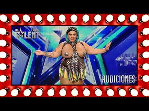 Xxx Mp4 ¡Agárrense Vienen Curvas Con Wendy Superstar Audiciones 1 Got Talent España 2018 3gp Sex