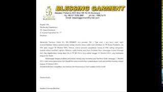 Surat Badnews - Biskom - IBA - Universitas Ciputra