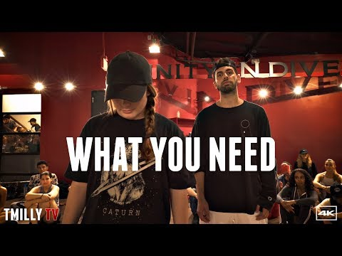 Baynk - What You Need - Choreography by Jake Kodish - #TMillyTV ft Haley Fitzgerald, Sean Lew