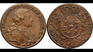 Kolekcja monet Poniatowskiego - Aukcja 10 Antykwariat Numizmatyczny Niemczyk Michał