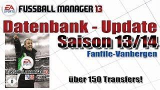 Fussball Manager 13 - Datenbank Update 13/14 - Fanfile Vanbergen mit Download [Deutsch]