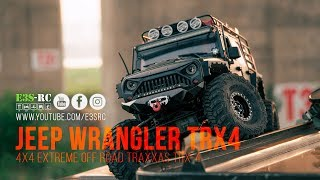 E3S-RC | 4x4 Extreme OFF Road | Jeep Wrangler Rubicon TRX4