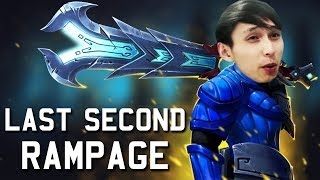 LAST SECOND RAMPAGE (SingSing Dota 2 Highlights #1191)