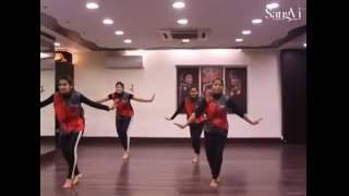 SangVi Dance Classes | Cham Cham | H Batch Choreography
