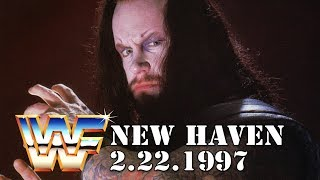 WWE WWF New Haven, CT February 22nd, 1997 : BW History of New England Wrestling