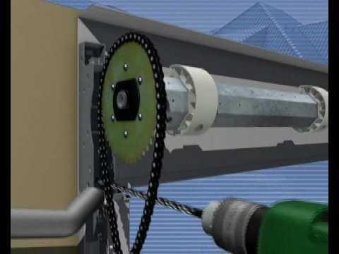 automatic center présente le montage d une porte de garage ROLLMATIC HORMANN.wmv