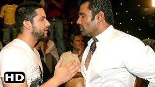 Fight Between Suniel Shetty And Aftab