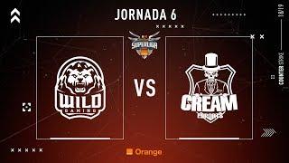 WILD GAMING vs CREAM ESPORTS | SUPERLIGA ORANGE CS:GO | JORNADA 6