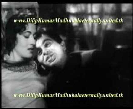 Madhubala and Dilip Kumar video