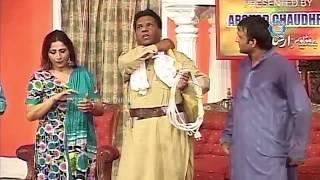 Amanat Chan and Abida Baig New Pakistani Stage Drama Full Comedy Clip