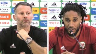Ryan Giggs & Ashley Williams Press Conference - Admits Nerves Ahead Of First Match For Wales