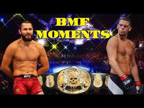Nate Diaz vs Jorge Masvidal Top 10 BMF Moments