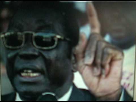Lome Togo EYADEMA QUI CHANTE