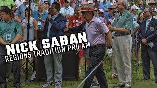 Nick Saban talks SEC grad transfer rule, competing against friends