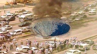 لغز حفر أرضية عميقة ظهرت في السعودية مؤخراً