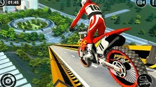 RAMP MOTO BIKE RACING GAME 2019 #Dirt MotorCycle Race Game #Bike Games For Android #Games For Kids