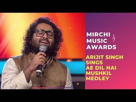 Xxx Mp4 Ae Dil Hai Mushkil Medley With Arijit Singh Jonita Gandhi At Mirchi Music Awards RSMMA 3gp Sex