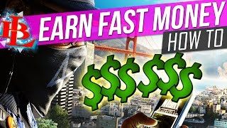 Watch Dogs 2 How to MAKE MONEY FAST - Money in Watch Dogs 2 Money Bag