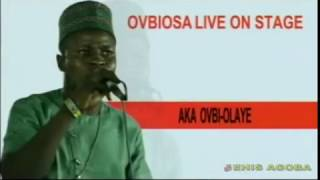 BENIN MUSIC LIVE ON STAGE:- OVBIOSA FT OLAYE DE GREAT x STANLEY O IYONANWAN LIVE ON STAGE