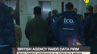 London office of Cambridge Analytica raided