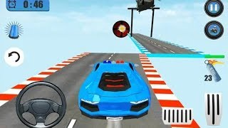 Extreme Police Car GT Stunts Race Game - Police Car Games - Car Games - Android Games