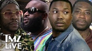 MEEK MILL & RICK ROSS: Rap Video Shootout (TMZ Live)