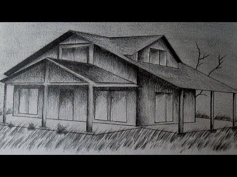 Cómo dibujar una casa en perspectiva paso a paso aprender a dibujar en 3d