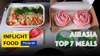 AirAsia TOP 7 BEST MEALS | Travip Flight Review