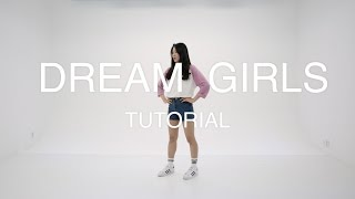 I.O.I - Dream Girls dance tutorial (mirror)거울모드