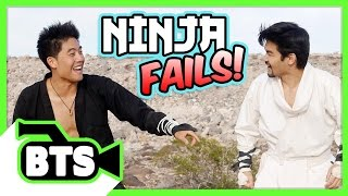 How To Be Ninja Fails! (BTS)