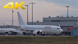 [4K] airberlin Albino Boeing737 at Cologne Airport | D-ABBD | 29.12.2015