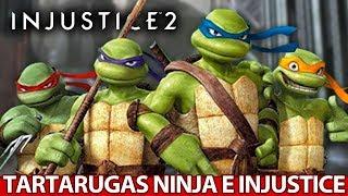Tartarugas Ninja em Injustice 2 ,TRAILER INCRÍVEL