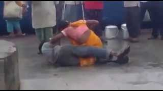 indian lady fighting