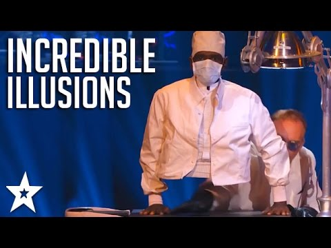 TOP ILLUSIONISTS on America s and Britain s Got Talent Got Talent Global
