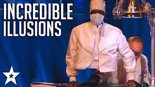 TOP ILLUSIONISTS on America's and Britain's Got Talent! | Got Talent Global