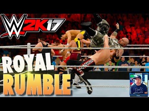 WWE 2K17 ROYAL RUMBLE Xbox One Gameplay