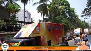 BJP Video Campaign Vans 'Vijayaratham' flagged off at Thiruvananthapuram