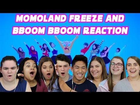 MOMOLAND FREEZE AND BBOOM BBOOM REACTION (S3 EP.1)