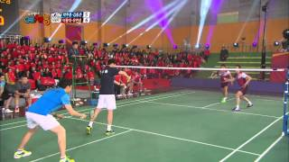 Cool Kiz on the Block   우리동네 예체능 - Badminton Returns 2 (2014.01.28)