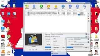 របៀបកាត់តAllok 3GP PSP MP4 iPod Video Converter