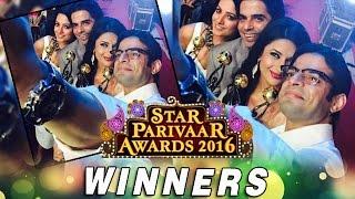 STAR Parivaar Awards 2016 | Full WINNERS List