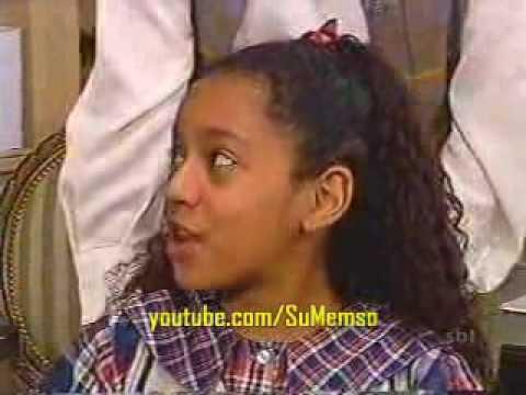 Chiquititas Brasil 1997 Dani cai da escada sacada do orfanato