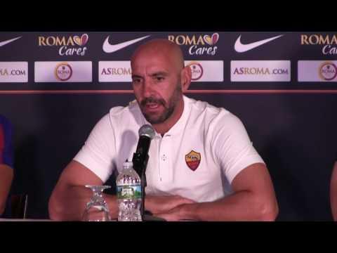 Conferenza stampa, Monchi: