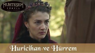 İbrahim Paşa'nın Kızı ve Hürrem Sultan  - Muhteşem Yüzyıl 115.Bölüm